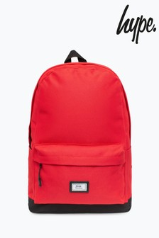 Hype. Ones Supply Solid Red Core Backpack