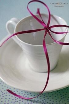 Set of 2 Portmeirion Sophie Conran Espresso Cups & Saucers