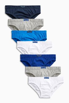 Briefs Seven Pack (1.5-16yrs)