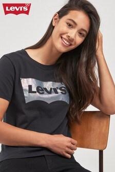Levi's® Black Pearlescent Logo Tee
