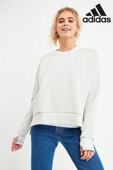 adidas Grey Versa Crew Sweater
