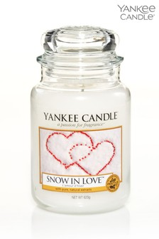 Yankee Candle Classic Large Snow In Love Candle