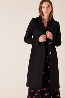 Black Wool Coat Womens Uk, Womens Black Wool Coats Uk