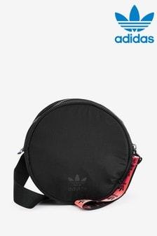 תיק עגול שחור של adidas Originals דגםTag
