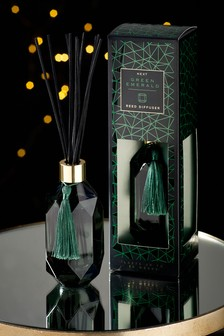 Emerald Green Faceted 180ml Diffuser