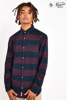 Original Penguin® Long Sleeve Rugby Stripe Shirt