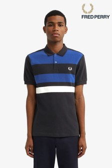 Fred Perry Tape Detail Polo Top