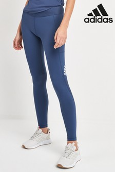 adidas Blue Alphaskin Leggings