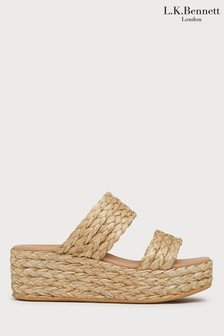 L.K. Bennett Animal Willa Sandal