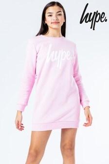 Hype. Script Sweat Dress