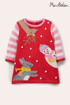Boden Christmas Knitted Dress