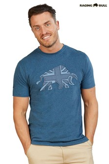 Raging Bull Blue Denim Bull T-Shirt
