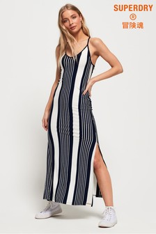 Superdry Azur Stripe Maxi Dress