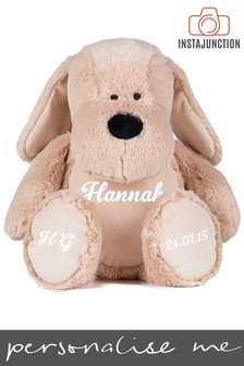 Personalised Cuddly Dog by Instajunction