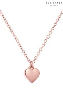 Ted Baker Metallic Hara Tiny Heart Pendant Necklace
