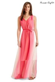 Phase Eight Pink Dip Dye Maxi Dress