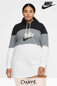 Nike Curve Colourblock Varcity Hoody Dress
