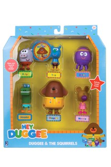 Hey Duggee Duggee And The Squirrels Figurine Pack