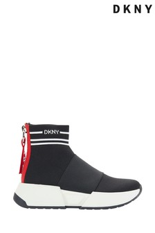 DKNY Black Marni Sock Boot Trainers