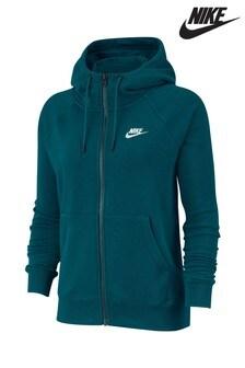 Nike Essential Fleece-Kapuzenjacke mit Reißveschluss