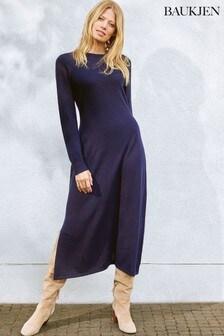 Baukjen Blue Amelia Knit Dress