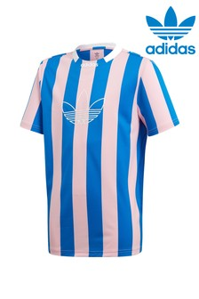 adidas Originals Blue/Pink Stripe Tee