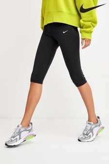 Nike Sportswear Black Leg-A-See Knee Length Leggings