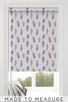 Feather Violet Purple Made To Measure Roller Blind