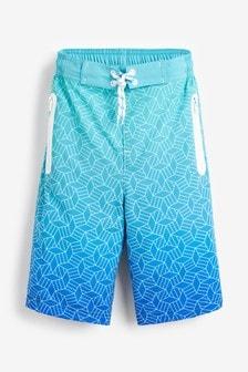 Geo Sporty Swim Shorts (4-16yrs)