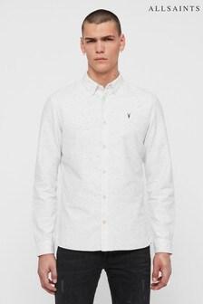 AllSaints White Speckle Altmar Shirt