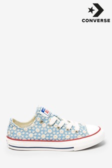 Converse Youth Daisy Print Trainers