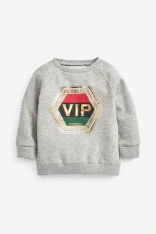 VIP Crew Neck Sweat Top (3mths-7yrs)