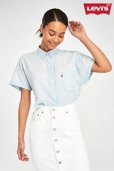 Levi's® Short Sleeve Cotton Shirt
