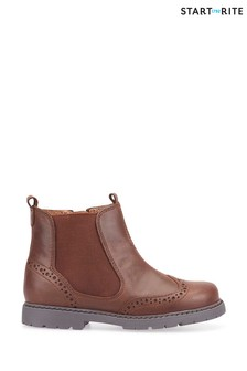 Start-Rite Brown Chelsea Shoes