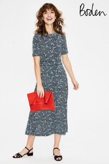 Boden Blue Ava Jersey Midi Dress