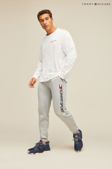 Tommy Sport Logo Tapered Joggers