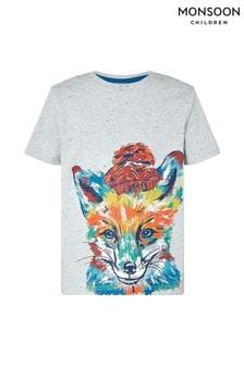 Monsoon Children Grey Fernando Fox T-Shirt