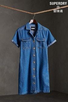 Superdry Denim Shirt Dress