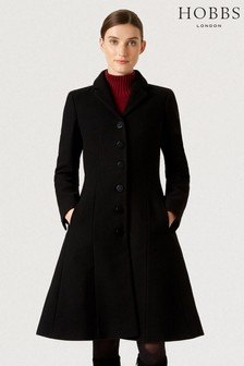 Hobbs Black Milly Coat