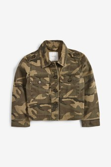 Cropped Utility Jacket (3-16yrs)
