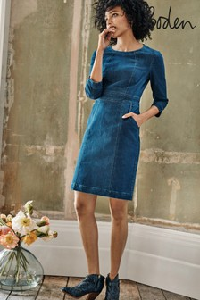 Boden Blue Coraline Dress