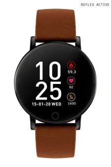 Reflex Active Series Brown 5 Smart Watch