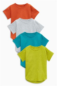 Neppy Short Sleeve T-Shirts Four Pack (3mths-6yrs)
