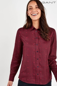 GANT Red Signature Weave Shirt