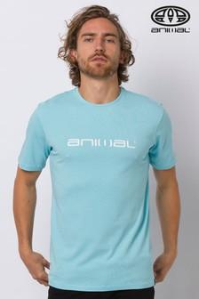 Animal Pale Blue Classico T-Shirt
