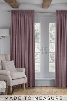Jasper Plum Purple Made To Measure Curtains