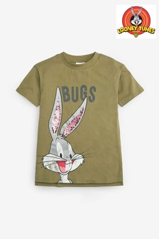 Bugs Bunny Licence Sequin T-Shirt (3-16yrs)