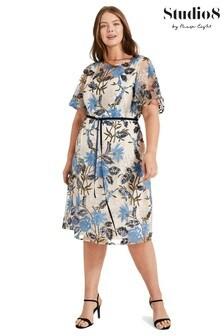 Studio 8 Multi Nyla Embroidered Dress
