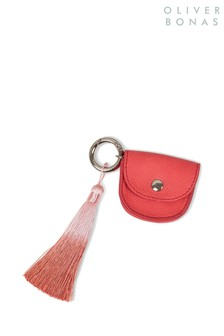 Oliver Bonas Red Leilani Ombre Pouch