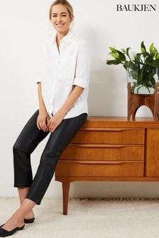 Baukjen Black Jemima Leather Trousers